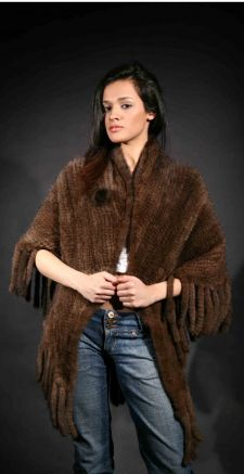 Marc Kaufman Furs Presents a demi knit mink fur cape from Marc Kaufman Furs New York,Argentina,United Kingdom,Austria,Denmark,Norway,Australia,Finland,Saudi Arabia,Oman,Kuwait,Jordan,Egypt