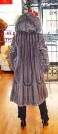 Blue Iris Mink Stroller Swirl Design Body