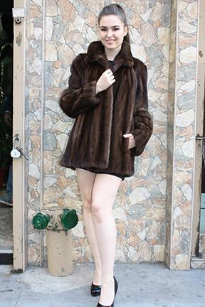Demi Mink Fur Jacket 9998 Image