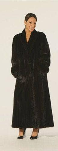 BLackglama Elegant Classic Full Length Mink Coat Marc Kaufman
