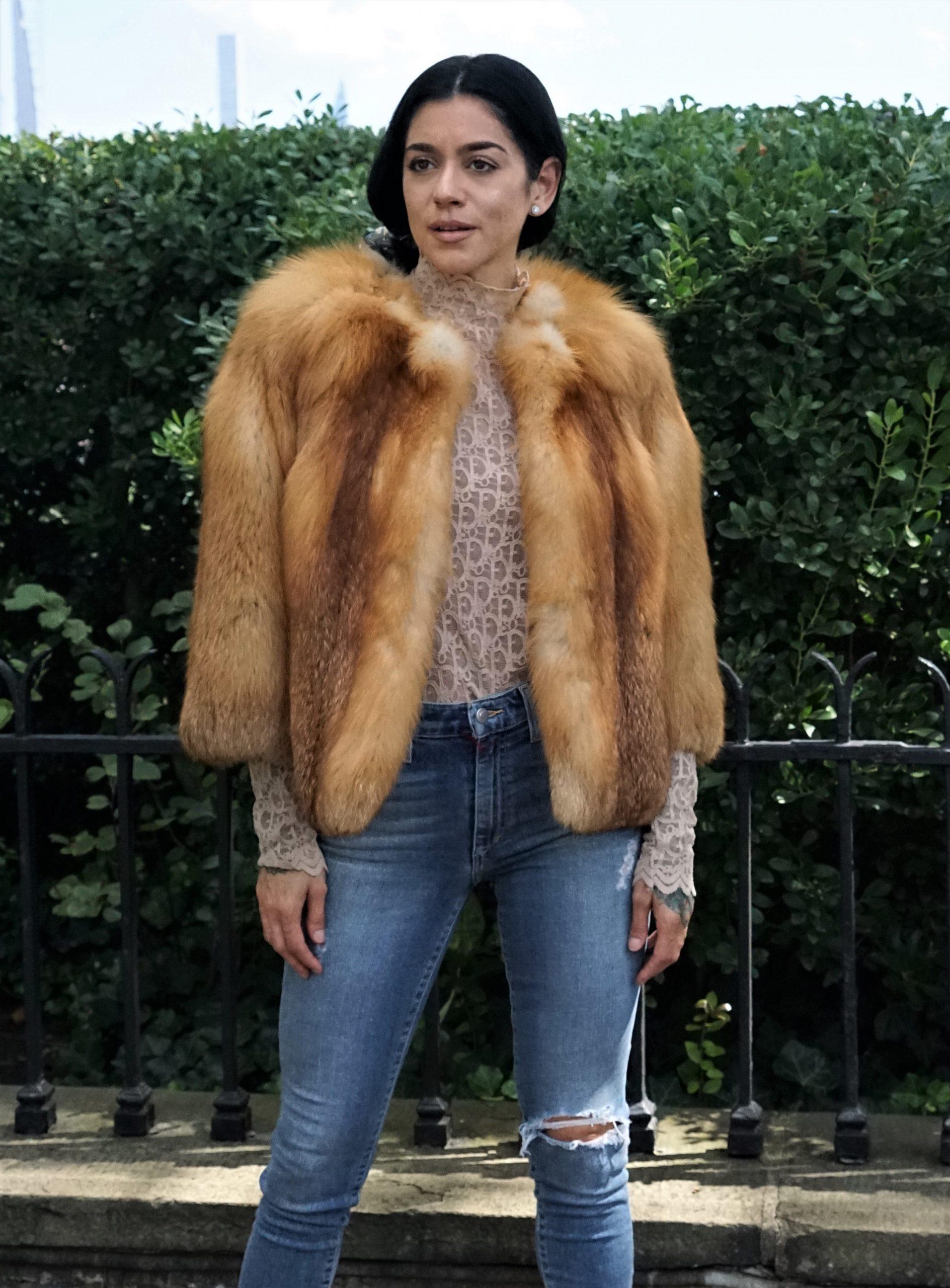 red fox bolero jacket