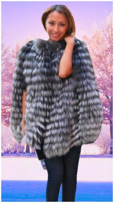 fox fur capes