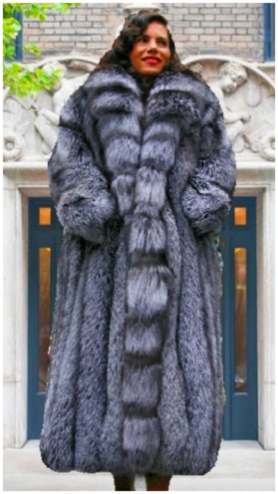 fox fur coat