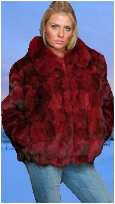 fox fur jackt