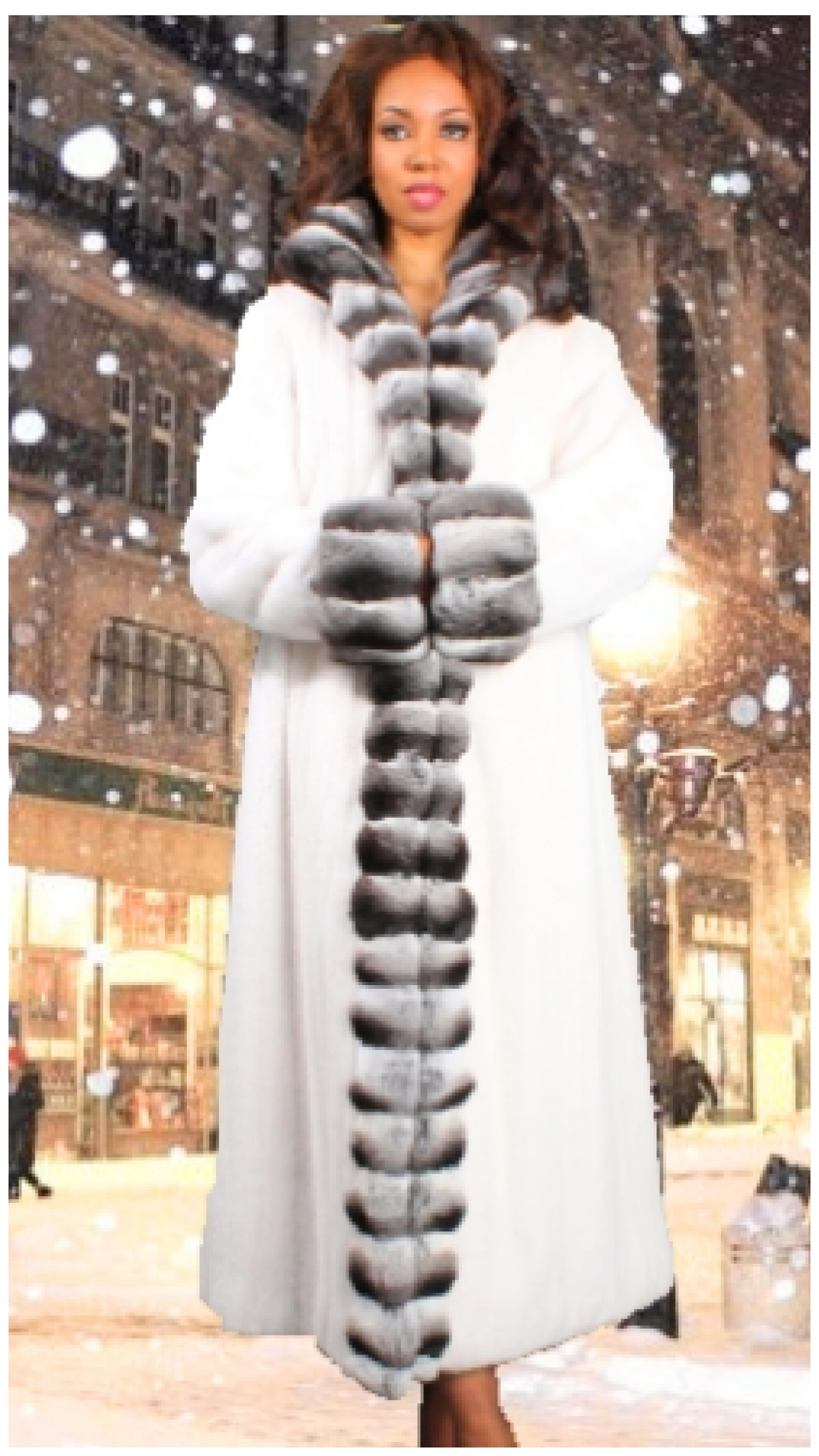 Mink coat fur coat
