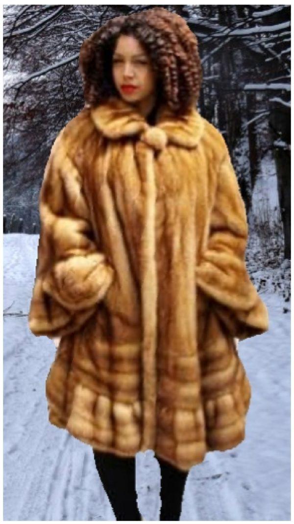 plus size whiskey fur swing stroller