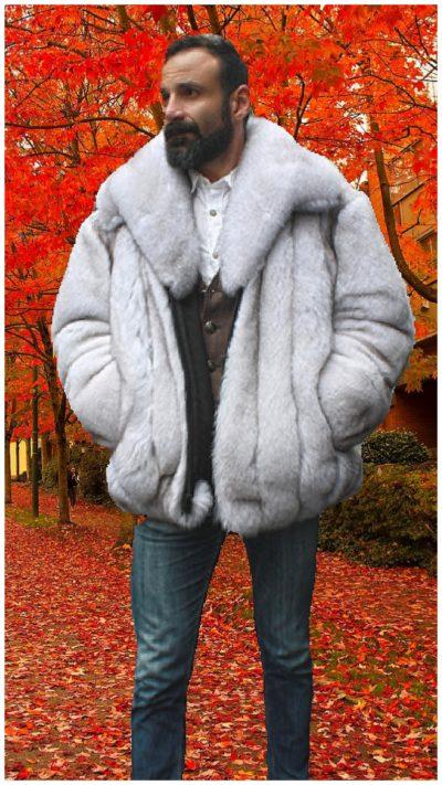 fur bomber jackets
