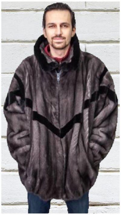 bomber fur jacket