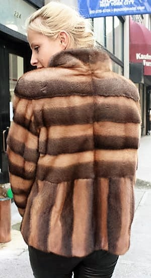 afd74dc11d Marc Kaufman Furs Presents a demi whiskey mink fur jacket from Marc Kaufman  Furs New York