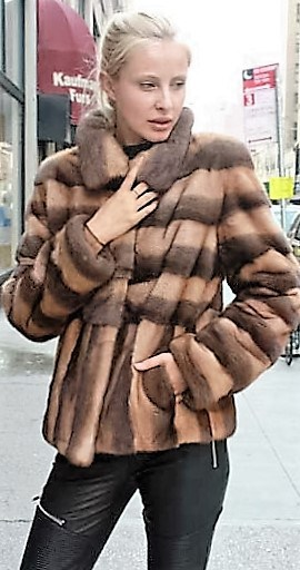 Marc Kaufman Furs Presents a demi whiskey mink fur jacket from Marc Kaufman Furs New York,Argentina,United Kingdom,Austria,Denmark,Norway,Australia,Finland,Saudi Arabia,Oman,Kuwait,Jordan,Egypt