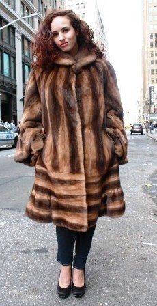 The Wondrous World of Fur Coats For the Plus Size Woman