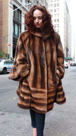 4ba71eaf73 Marc Kaufman Furs Presents a whiskey demi mink fur stroller from Marc  Kaufman Furs New York