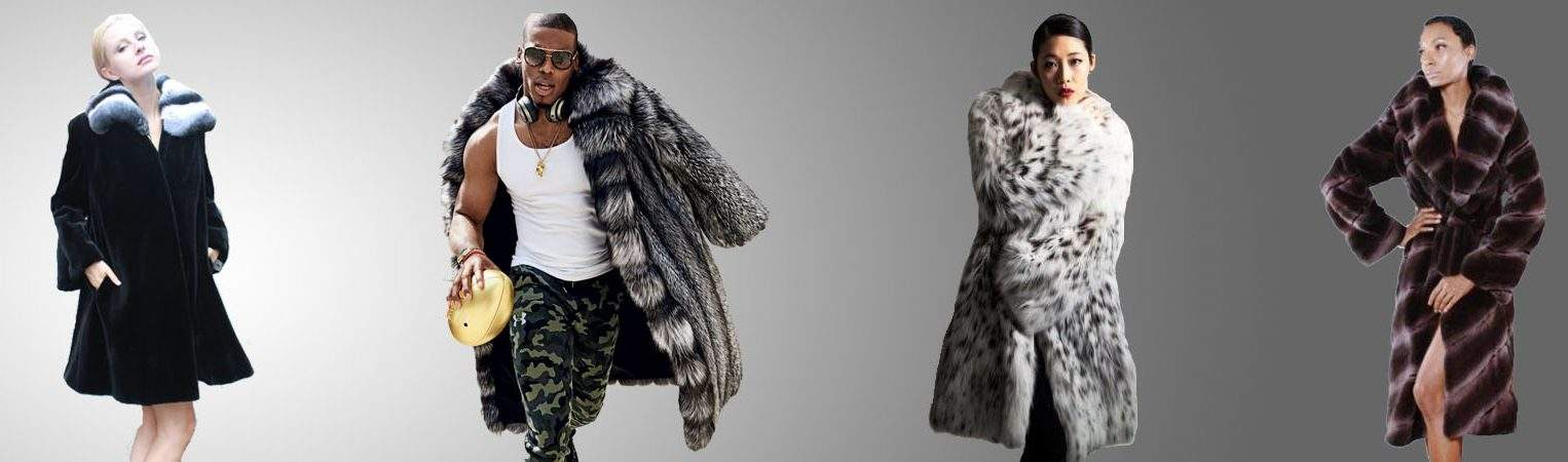 Collection of the Most Beautiful Furs Cam Newton in Siver fox Coat