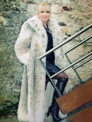 Magnificent Canadian Lynx Coat Wedding Perfect