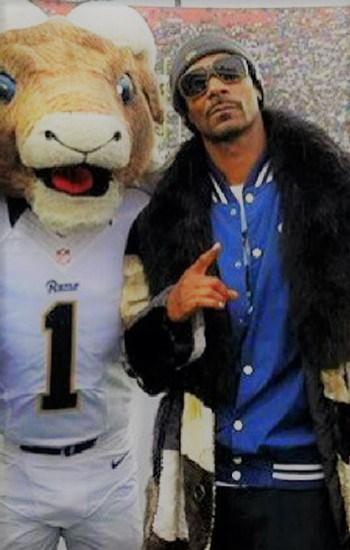 Snoop Dogg Mink Throwback Fur Stroller Fox Collar
