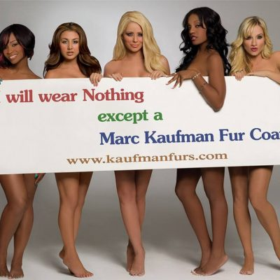 Rather Wear Marc Kaufman Furs Than Go Naked