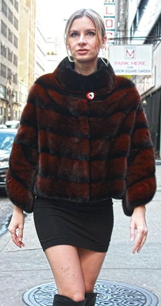 Cinnamon MInk Fur Jacket