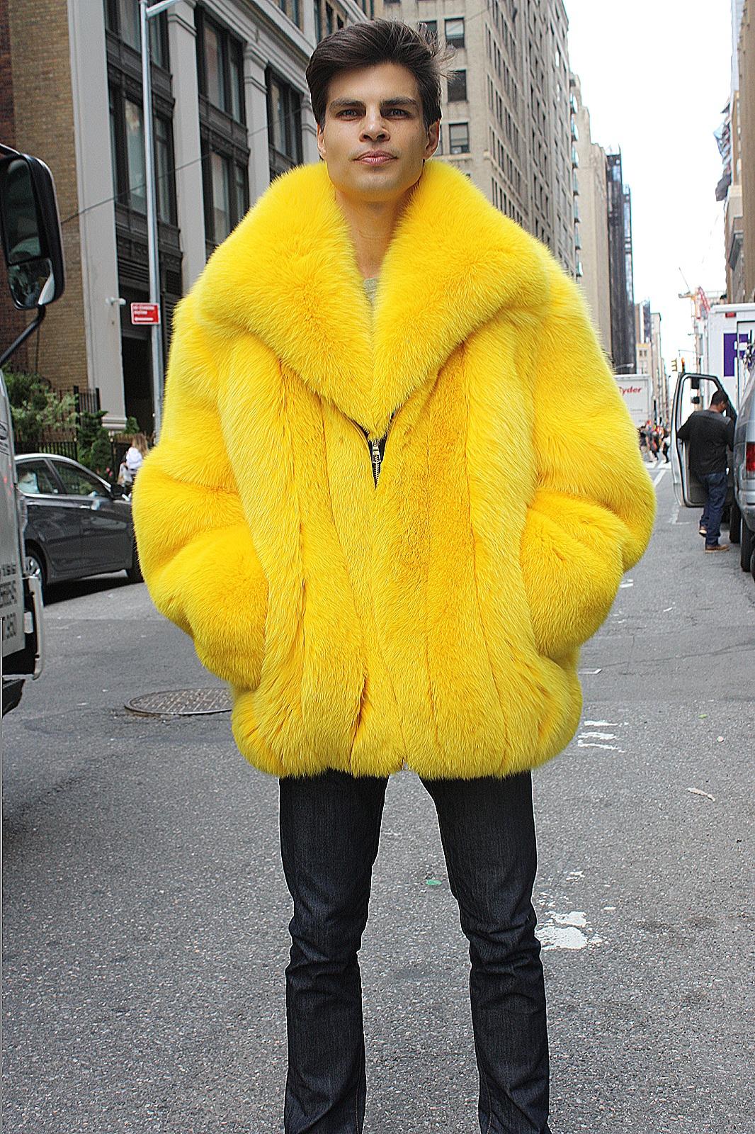 men's fox stroller