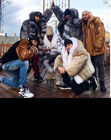 50 Cent Marc Kaufman Furs