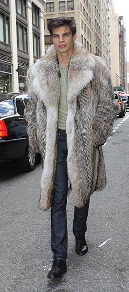 Coyote Fur Coat >> Men S Coyote Stroller Fur 88332