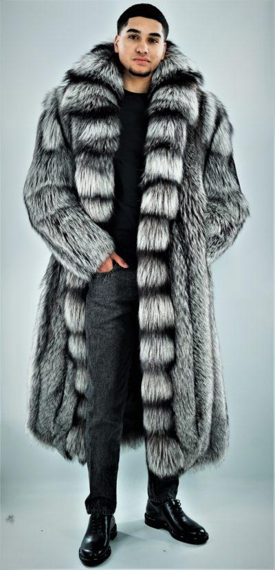 Men's Silver Coat