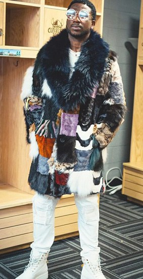 Gucci mane Throwback Fur coat
