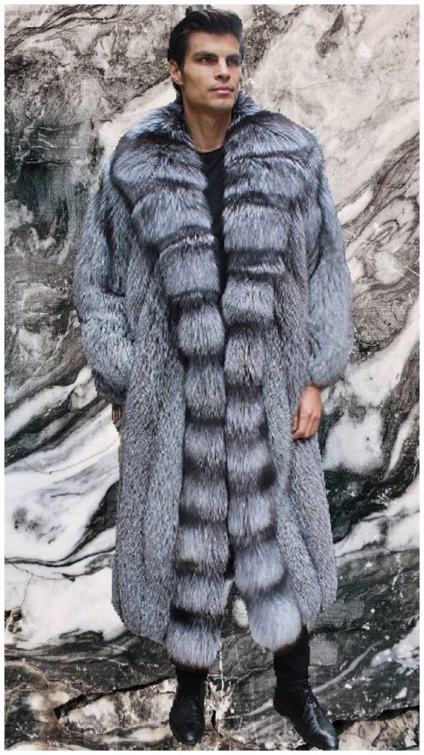 men's mink fur jackets