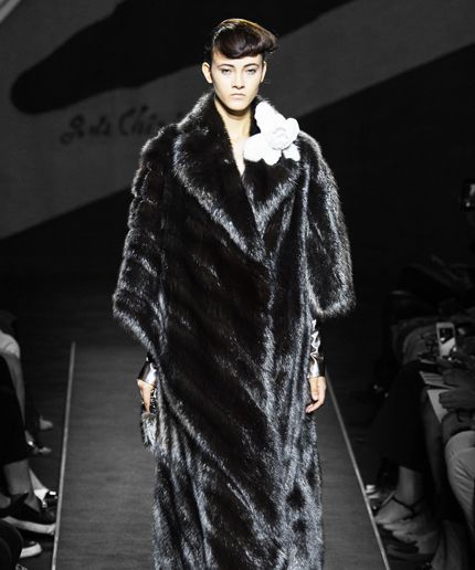 This Is What A $1 Million Fendi Fur Coat With Silver