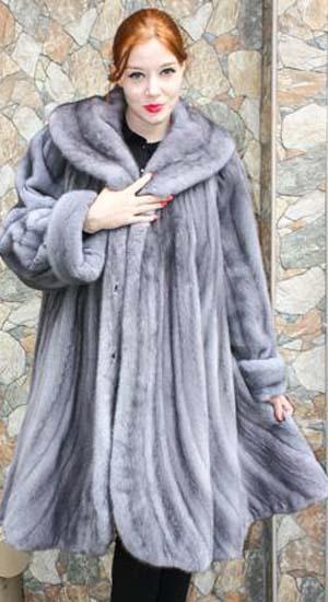 Plus Size Sapphire Mink Stroller