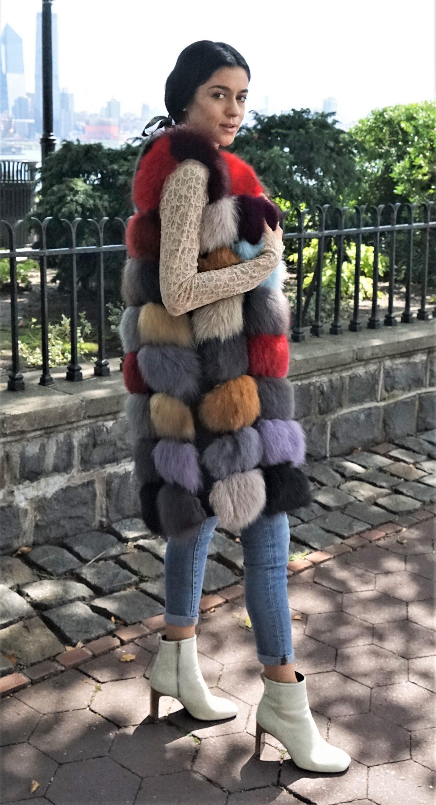 Designer Fox Vest