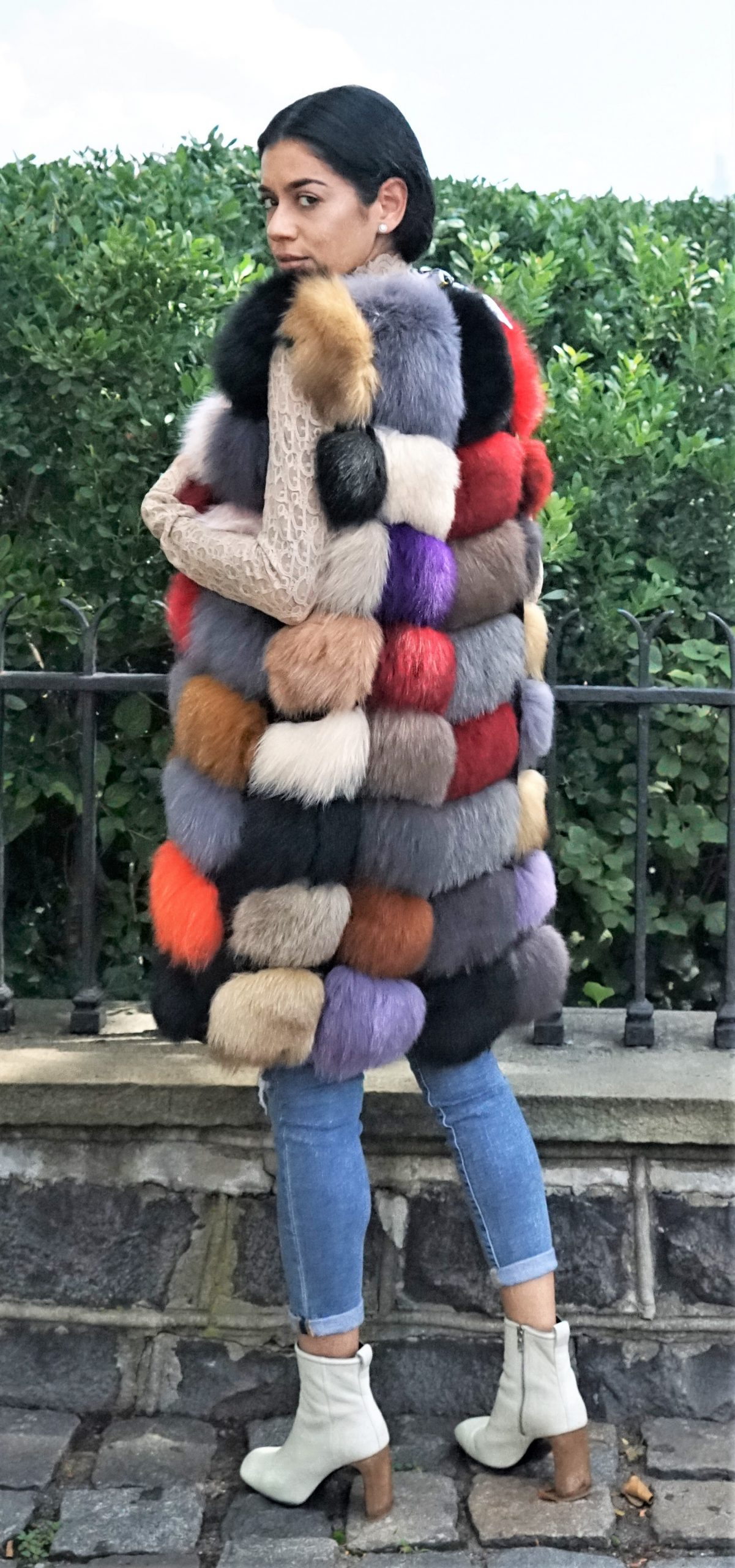 Colorful Fox Vest