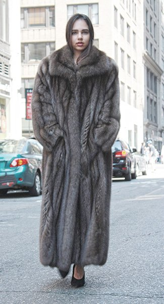 Full Length Russian Sable Fur