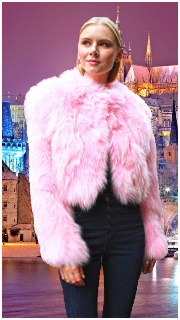 Pink Fur Jackets