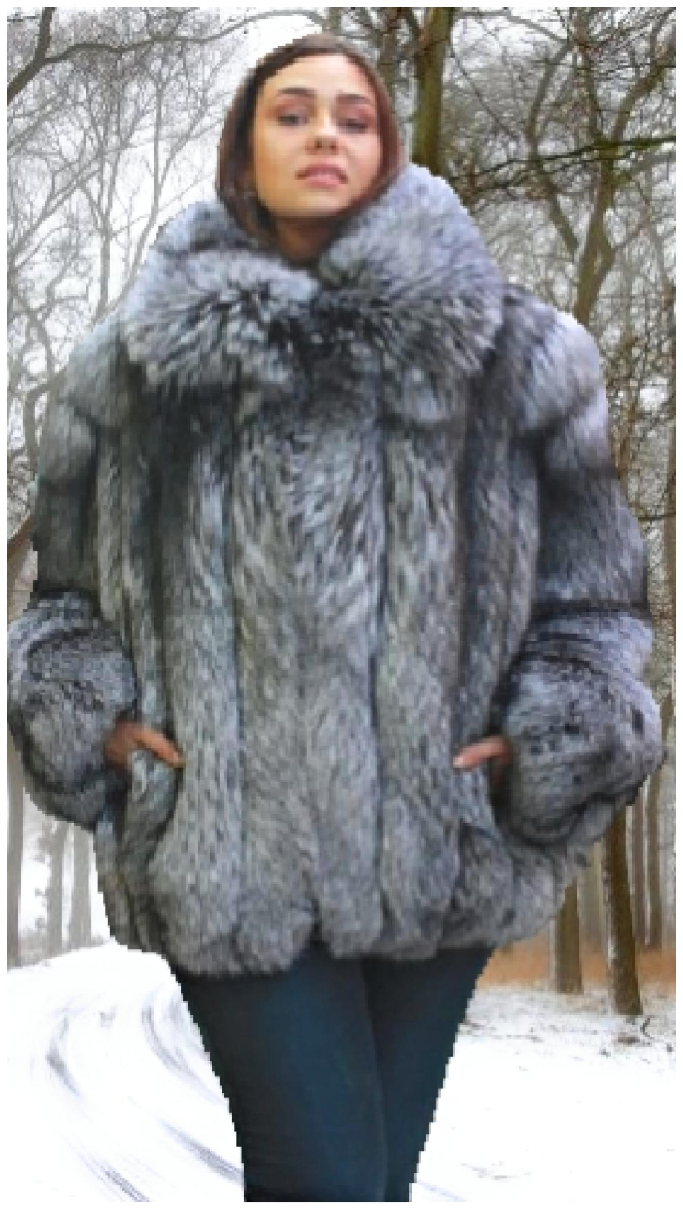 plus size fox bomber jacket