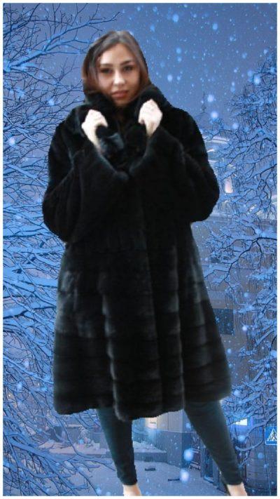 plus size blackglama mink stroller