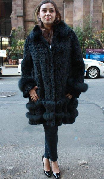 Plus Size Knit Mink Stroller