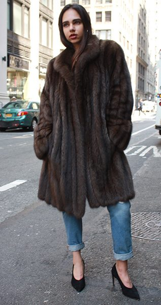 Russian Sable Fur Stroller | MARC KAUFMAN FURS