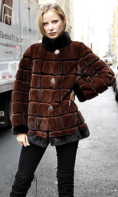 mink fur jackets