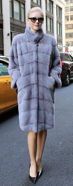 Sapphire Mink Fur Stroller