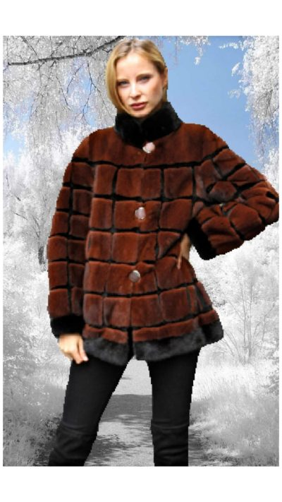 Woman Mink Fur Jackets