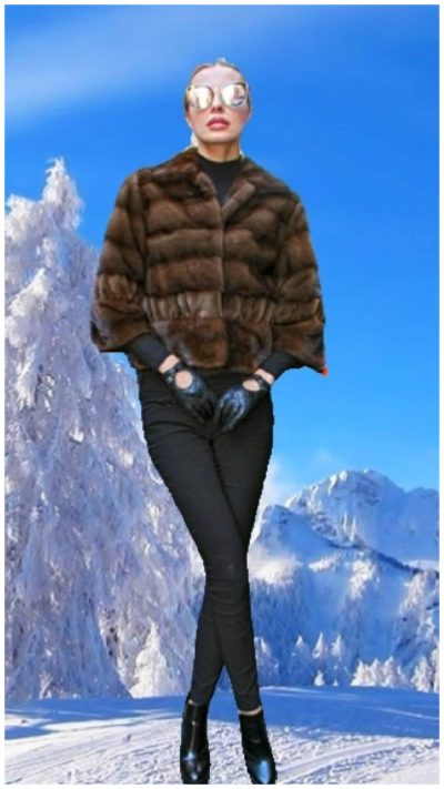 mink fur jacket