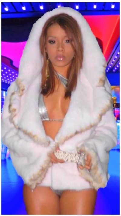 mink jacket with sable trim