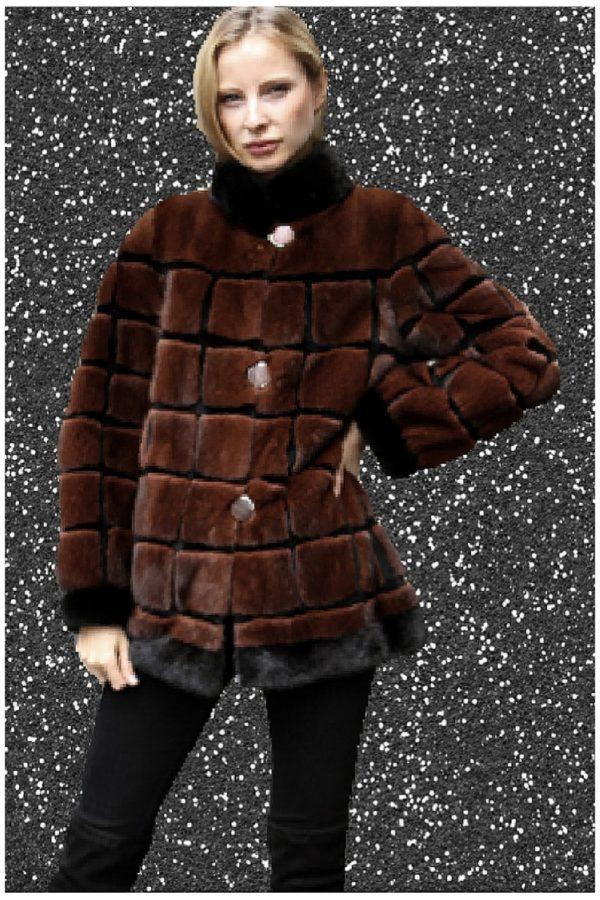 mink fur jacket