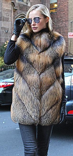 chinchilla fur jackets