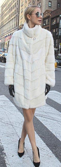 White Mink Directional Stroller