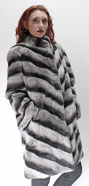 Rex Rabbit Fur Stroller