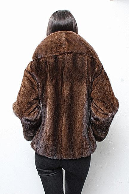 fox fur jacket