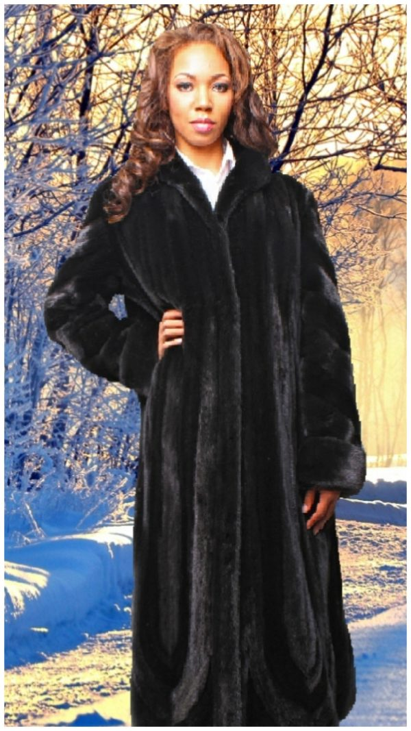 mink fur coat
