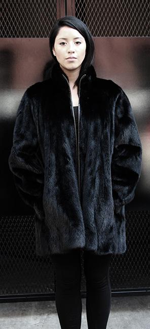 Black Mink Jacket
