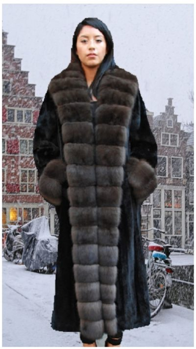 mink coat russian sable
